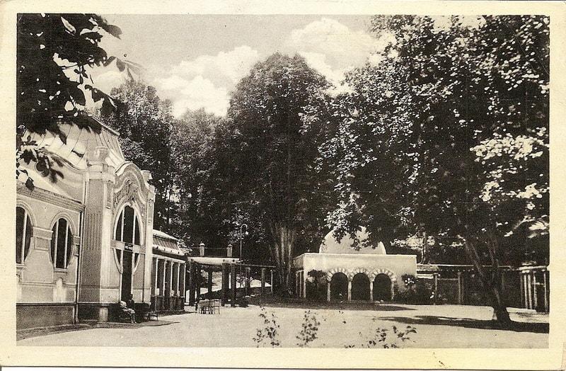 Bukovička banja paviljon